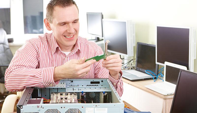 Datorproblem är till för att lösas